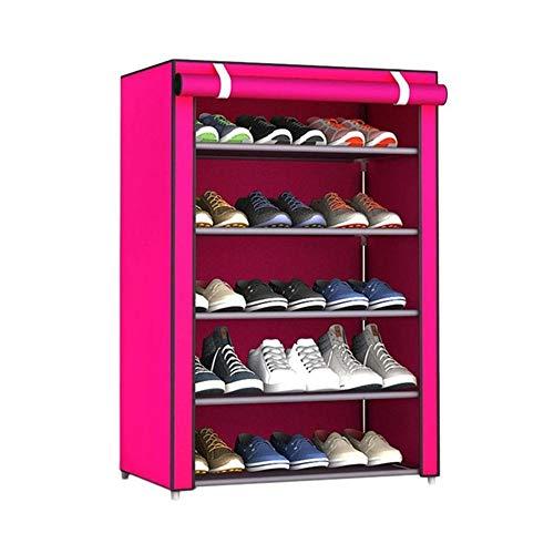 Yuan Ou Schoenenrek, ruimtebesparend, smal, voor buiten, schoenenrek, geschikt voor thuis, meerdere lagen, deurhouders