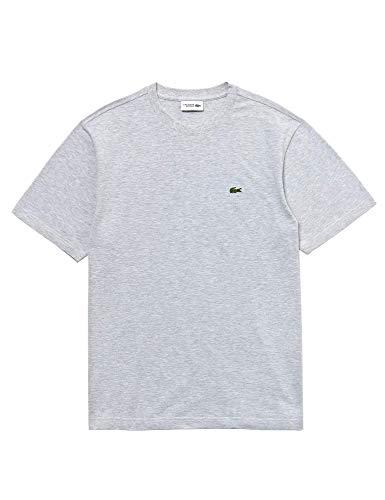Lacoste Sport TH7418 T-Shirt, Argent Chine, XL Homme