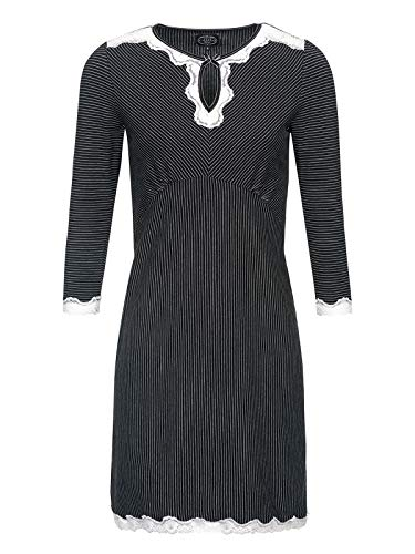 Vive Maria Dandy Nights Nightdress Black, Größe:M