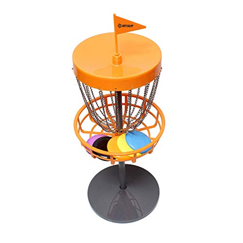 Get Out! Mini Frisbee Golf Set – Mini Disc Golf Basket with Frisbees, Outdoor Toys & Indoor Frisbee Golf Disc Golf Set
