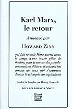 Karl Marx, le retour de Howard Zinn