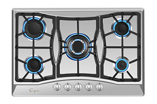 Empava 30 Gas Cooktop in Stainless Steel with 5 Burners 30XGC21