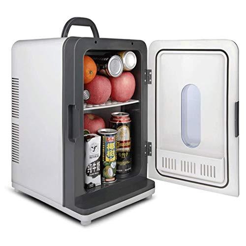 Qinmo Frigo, Borsa termica, Congelatore 12V 220V portatile di mini corsa Frigorifero calda/fredda adatta for il campeggio, pic-nic, uso della casa Etc