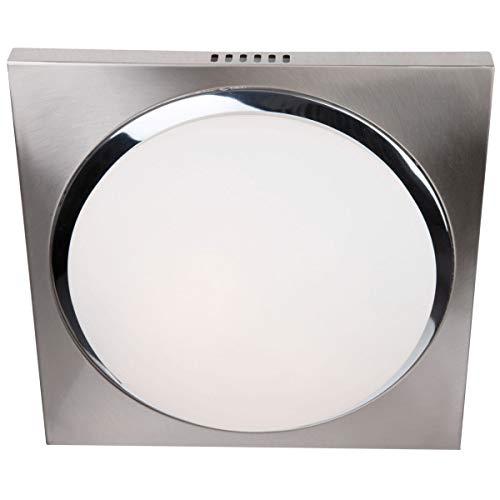 Steinhauer plafondlamp LED - mat staal
