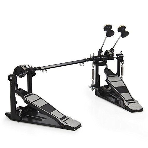 Drum Pedal Double Bass Pedal Foot kick Drum Set Percussion Dual Pedals New