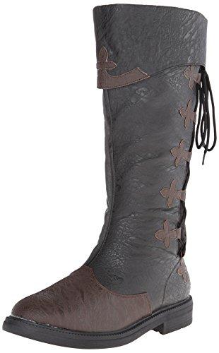 Funtasma Herren CAPTAIN-110 Klassische Stiefel, Schwarz (Blk-Brown Distressed Pu), 42 EU