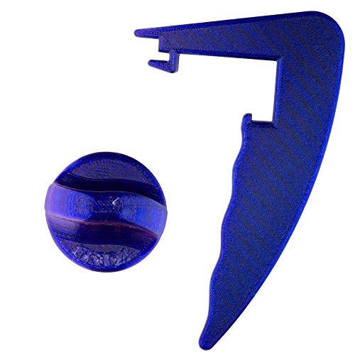 TronicXL Set de ayuda para rotar + mango desmontable de alta calidad,...