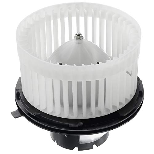 A-Premium Heater Blower Motor with Fan Cage Replacement for Chevrolet Silverado Avalanche Suburban Tahoe GMC Sierra Yukon Cadillac Escalade