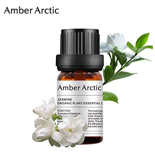Aceite esencial de jazmín - 100% puro Aceite esencial de grado terapéutico, aceites de jazmín para aromaterapia natural para difusor (10 ml)