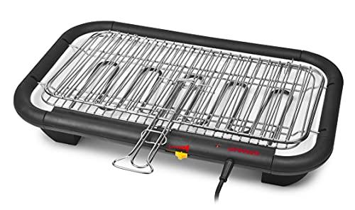 G3Ferrari Galactic Grill-G10027 Griglia Elettrica Barbecue, Nero