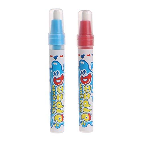 Lot de 2 stylos à dessin à l'eau pour enfants - Jouet éducatif