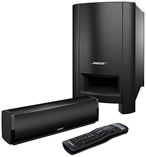 Bose ® CineMate15 Heimkinosystem (2x Lautsprecher, Eingang: optische Audio, Coaxial, R-L Audio) schwarz