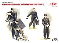 ■ ICM 【希少】 1/35 ドイツ軍 装甲車クルーセット 1941-1942