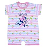 CERDÁ LIFE'S LITTLE MOMENTS 2200006943_T12M-C50 Pelele Bebe Niña Minnie Mouse, Rosa y Azul, Estándar para Bebés