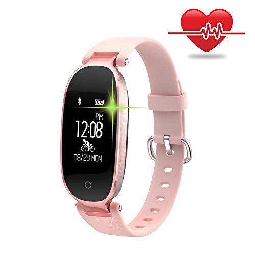 WOWGO Fitness Tracker, Women Sport Tracker Smart Watch Band Bracelet, Heart Rate...