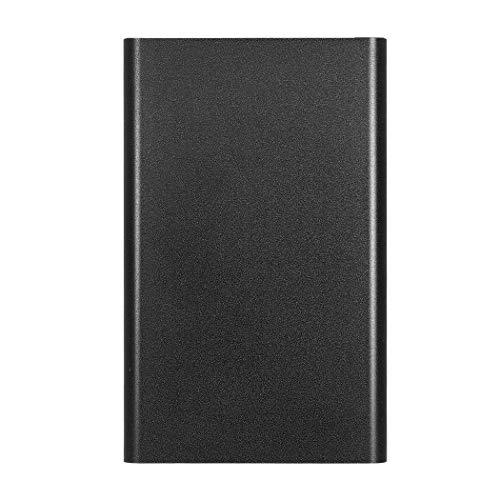 Disco rigido esterno portatile da 2 TB - Aggiorna HDD portatile USB 3.0 per PC, laptop, Mac, Chromebook (2TB, Black)
