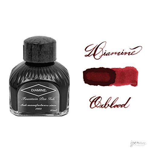 Diamine Fountain Pen Ink, 80 ml Bottle, Oxblood