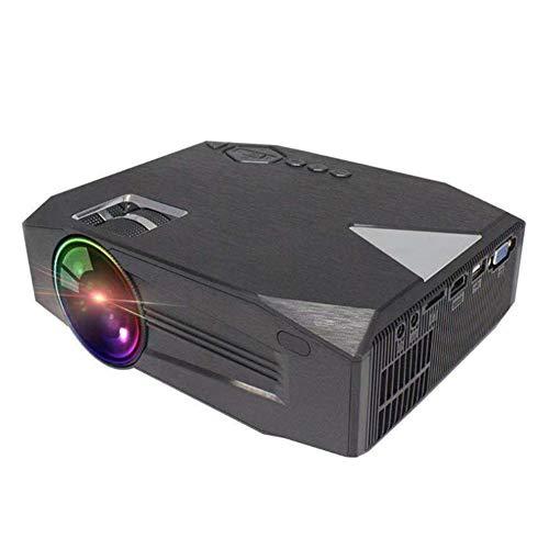 YPJKHM Proyector doméstico portátil LED mini proyector...