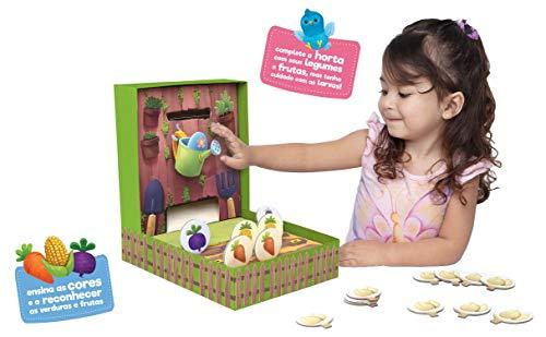 Minha Hortinha, Toyster Brinquedos, Colorido