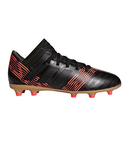 adidas Boys' Nemeziz 17.3 FG J, core Black/Solar red, 4.5 M US Big Kid