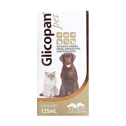 glicopan Pet 125ml. Vitamine und Aminosäuren für Haar. Stärker, Länger, gesünderes Haar. Ideal für Salons und hobbyleuten