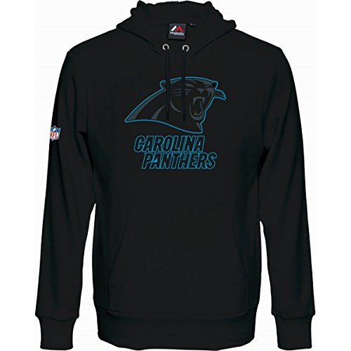 NFL Football Hoody/Kaputzenpullover CAROLINA PANTHERS Up&Over in XXL (2XL)