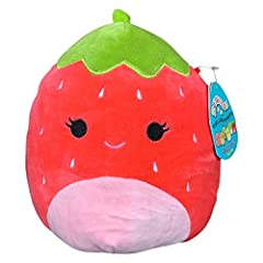 PERFECTLY SIZED SQUISHMALLOWS- These plushies are 8 inches of warm cuddly fun and the right size for taking with you wherever you go. EASY CARE - These cute stuffed animals are machine washable and so easy to clean and care for. SUPER SOFT - Made fro...