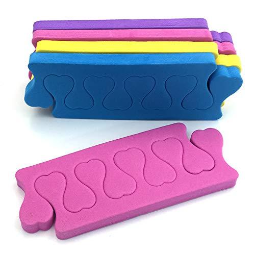 12 Paare Zehentrenner Weichschaum Zehenspreitzer Toe Verbreiterungen Großzehe Kissen Farbe Sortiert Nagellack Pediküre Werkzeug Notwendigkeiten