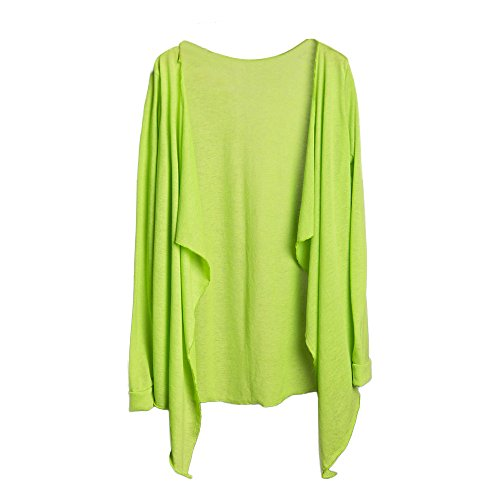 Clearance! Womens Sun Protection Clothing, 2018 Summer Fashion Long Sleeve Long Thin Cardigan Modal Tops by GreatestPAK Green