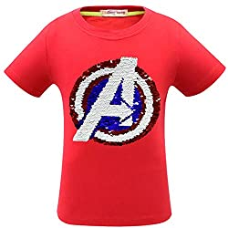 1syaho Flash Flip Sequin T-Shirt