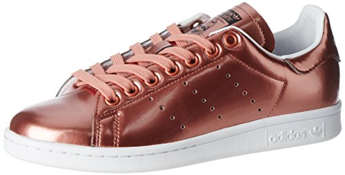 adidas Womens Stan Smith Sneakers, Mehrfarbig Copper Metallic Copper Metallic Footwear White, 38 EU