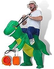 恐竜 ハロウィン コスプレ おもしろコスプレ 着ぐるみ 仮装 変装 エアコス イベントグッズ コスチューム パーティーグッズ mugenbo