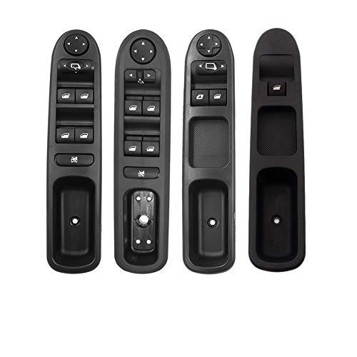 XDTLD Interruptor de alimentación Ventana de Control for Peugeot 207307407 for Citroen C3 C4 Picasso 2000+ 6554KT 6554QC 6554ER 6554HA 6490HQ relé (Color : 6554.QC RHD)