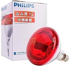 فيليبس مصابيح الأشعة تحت الحمراء دائري,احمر