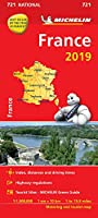 France 2019 - Michelin National Map 721: Map (Michelin National Maps)