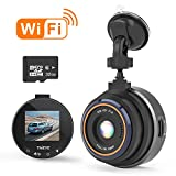 THiEYE Dash Cam WiFi, Dashcam for Car Driving Recorder 1080P FHD LCD Screen...