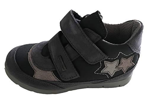 Djumling flickor skor, höga barnsneakers, läderskor för flickor, höstskor, kardborrskor, sneakers, - flerfärgad - 29 EU