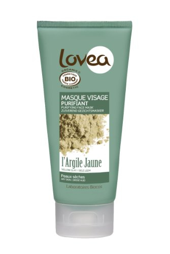 Lovea máscara facial Purifiant Certificado Bio Barro Amarillo 75 ml