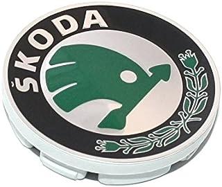 Argento Skoda 1Z0071215Z37 Copricerchi Standard