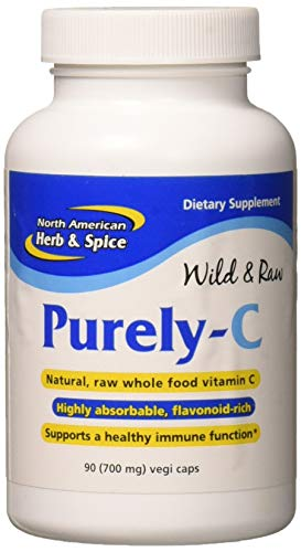 North American Herb and Spice, Purely-C Capsules, 700 Mg  90-Vegi Caps