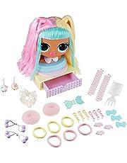 LOL Surprise OMG Głowa do Stylizacji z Włosami Do Niekończących Się Stylizacji - 30 Niespodzianek i Akcesoriów - Candylicious