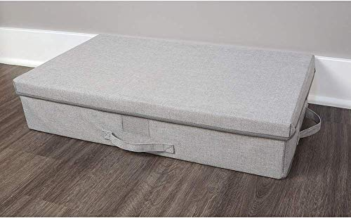 Large Collapsible  Under Bed Closet Storage Bin with Lid and Handle