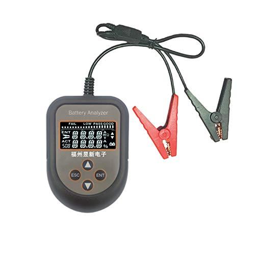 Notewisher Analizador de Prueba de BateríA del Coche de 12 V, Probador de Voltaje CCA de Resistencia, Herramienta de DiagnóStico AutomáTico C90A