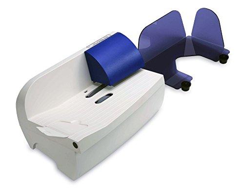 Hefter Systemform OL 220 Automatischer Brieföffner, Briefformate bis B4, blau/lichtgrau