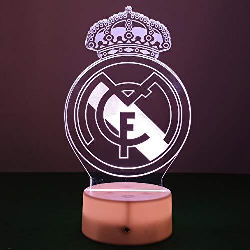 Lampara Real Madrid 3D