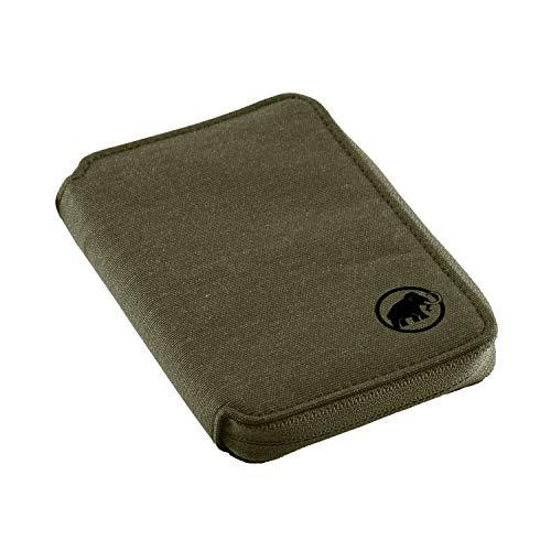 MAMQ3|#Mammut Mammut Unisex Geldbeutel Zip Wallet Mélange, Olive, Einheitsgröße