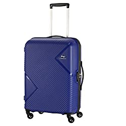 Kamiliant by American Tourister Kam Zakk Polypropylene 68 mm Blue Hardsided Check-in Luggage (KAM Zakk SP 68CM - Royal Blue),SAMSONITE SOUTH ASIA PVT. LTD,KAM ZAKK SP 68CM - ROYAL BLUE