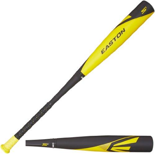 Easton BB14S1 S1 Composite-3 BBCOR Baseball Bat, Black/Yellow, 33-Inch/30-Ounce