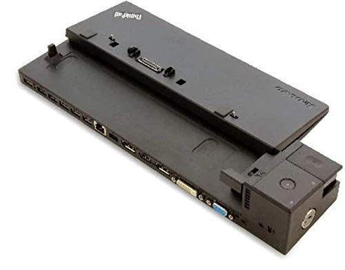 Lenovo 40A20090EU Dock für Thinkpad Ultra (90 Watt, VGA, DVI-D, 2X DisplayPort, HDMI, 3X USB 3.0/2.0)