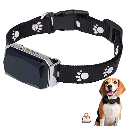 Great Deal! WAFOR Dog Tracker GPS 2G Positioning Waterproof Pet Anti-Lost Security Finder Locator Sm...